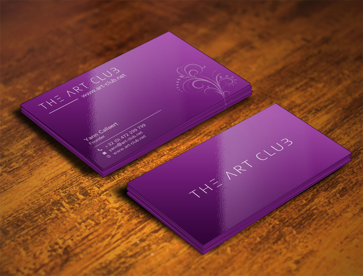 Upmarket serious business card design for caos vof by poonam business card design by poonam gupta for online art gallery art management firm looking for reheart Image collections