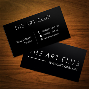 70 upmarket business card designs artists business card design business card design by abikasirajan for caos vof design 4866153 reheart Images
