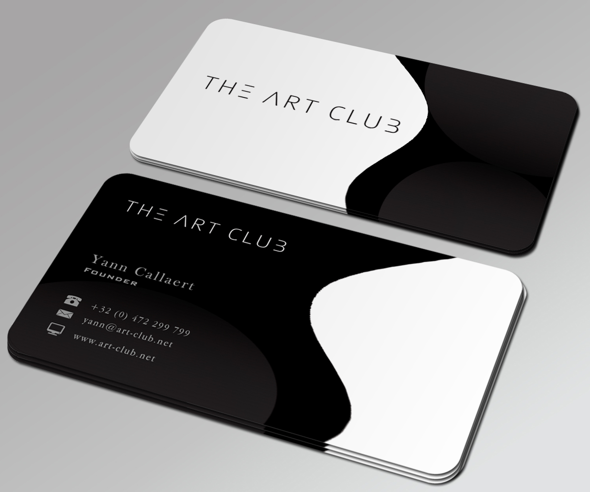 Upmarket serious business card design for caos vof by stream business card design by stream graphics for online art gallery art management firm looking for reheart Image collections