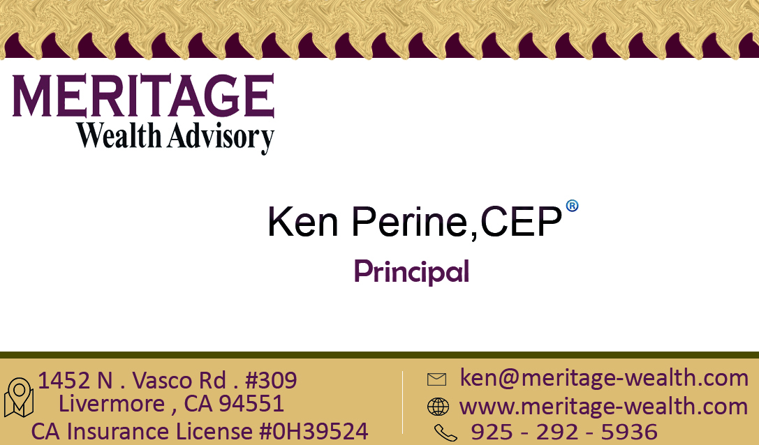 Business Card Design For Ken Perine By Alkingnour250