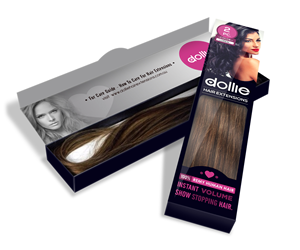 Packaging Design by S.P.C.Len - New Packaging Design for Hair Extensions!