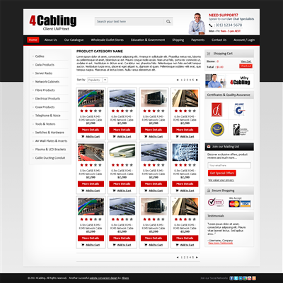 Corporate Website Generator Designs 239314