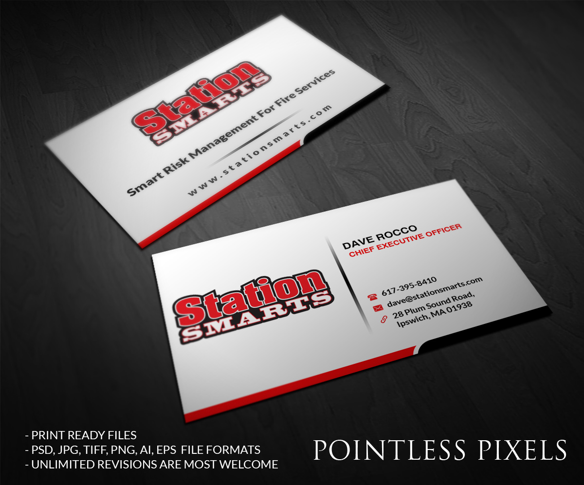 Business Business Card Design For A Company By Pointless Pixels