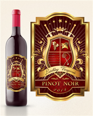Label Design by Mitzu_Iulian2000