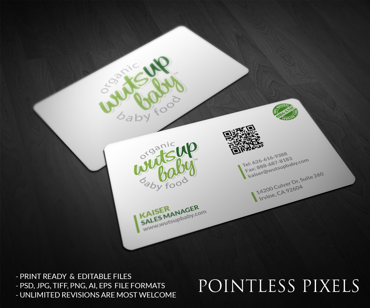 Business business card design for a company by pointless for Business card pixels