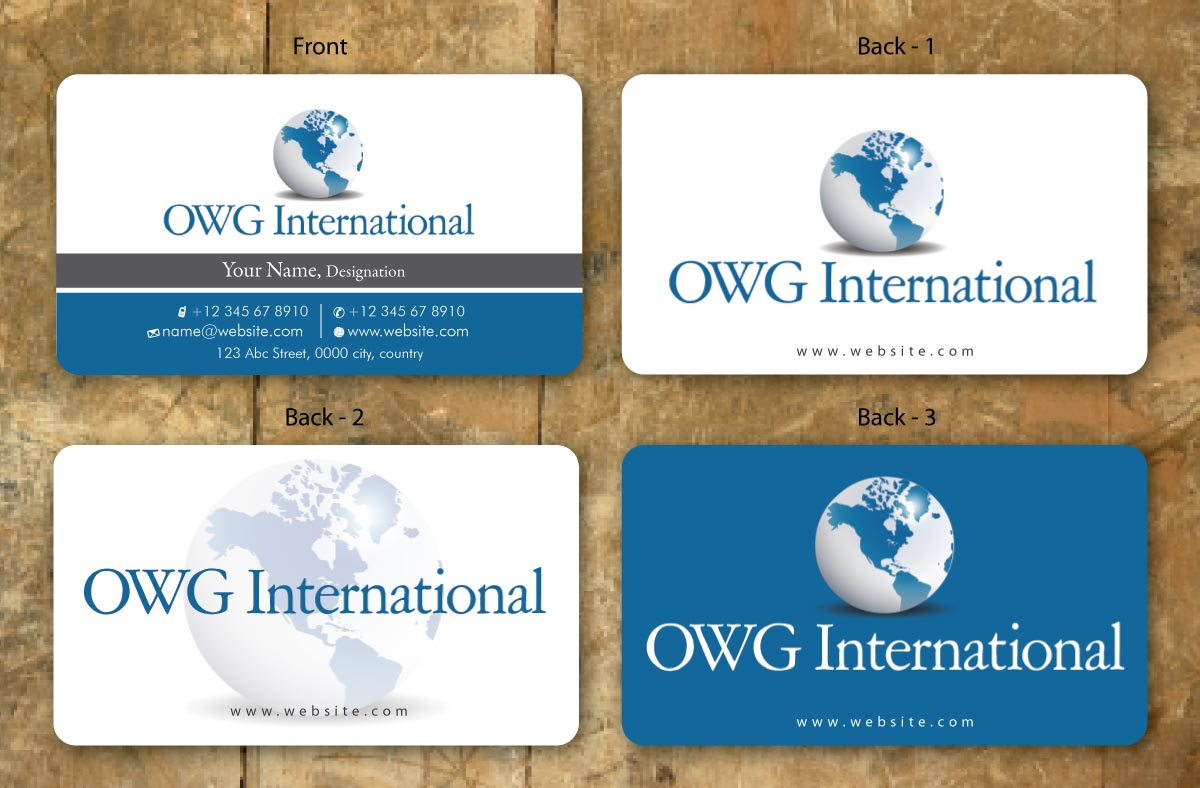 43 elegant business card designs safety business card design business card design by sbss for owg international design 1365727 colourmoves