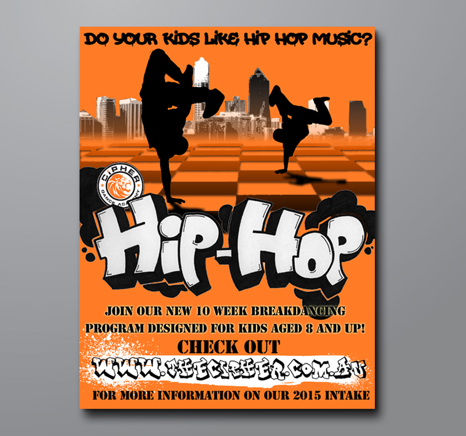 Hip Hop Dance Flyer Design For Thye Yuong Lee Pty Ltd By Jackcannon 4820238