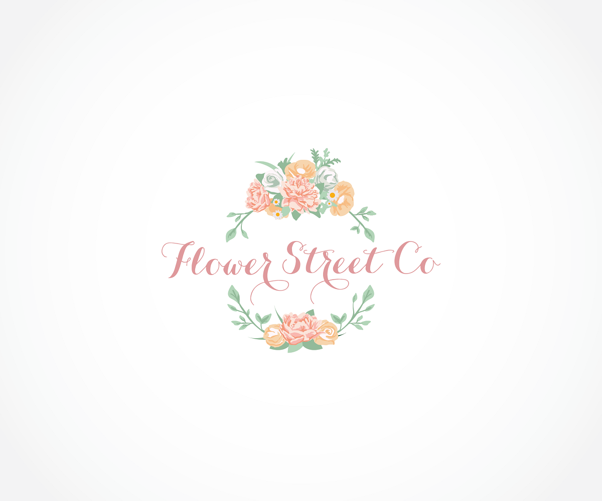 Logo Design By Wynny Lim For Florist And Event Styling Company Looking Contemporary Vintage