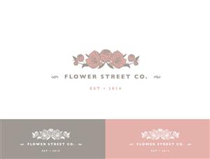 Feminine Modern Florist Logo Design By Wonderland