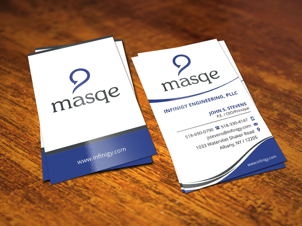 10 modern business card designs business business card design business card design by indianashok for infinigy masqe design 4942497 reheart Gallery