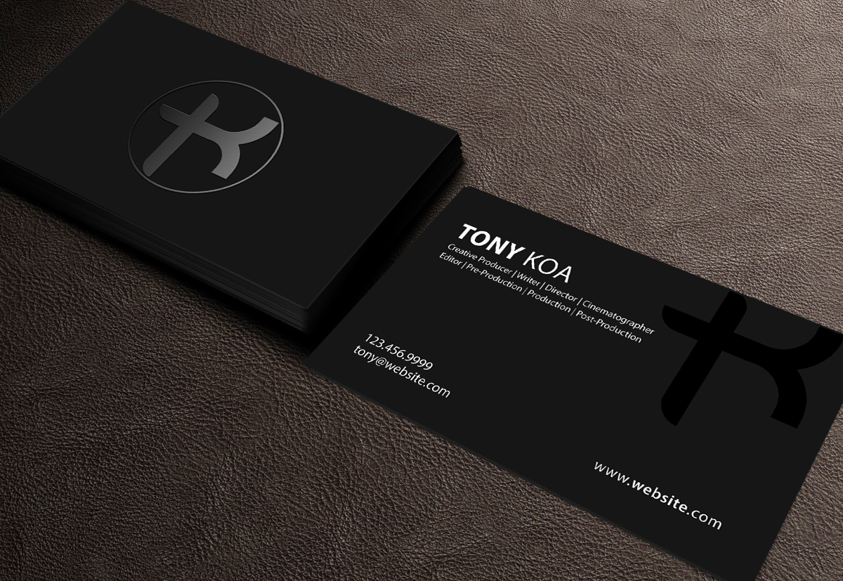 Upmarket, Masculine, Business Business Card Design for a Company by ...