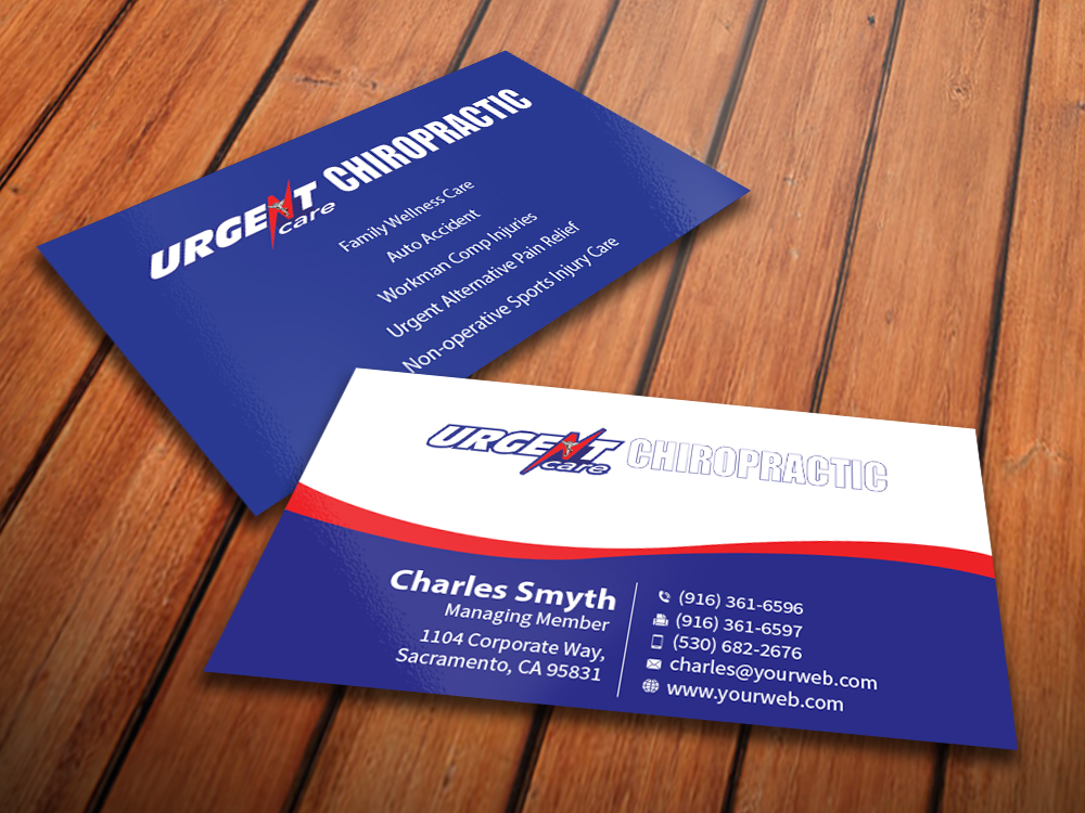Christian Business Card Design for a Company by MediaProductionArt ...