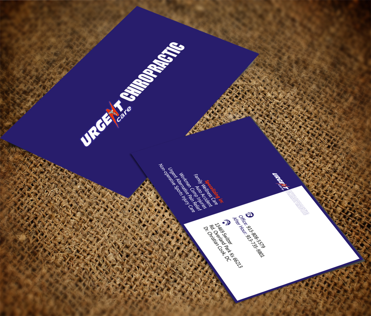 Christian Business Card Design for a Company by Bielka design ...