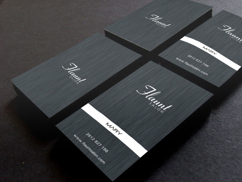 Construction business card design for a company by poonam for Contemporary business card design