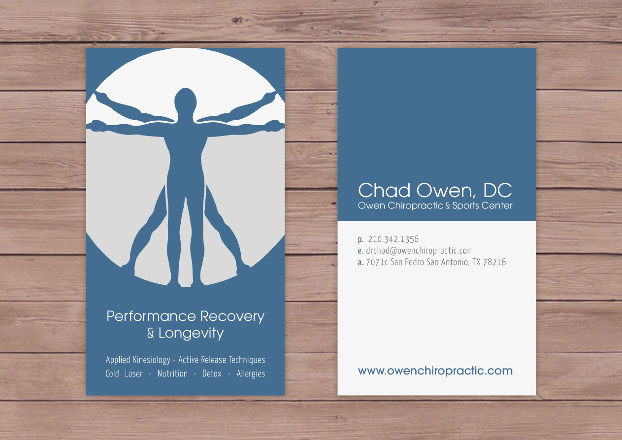 Bold, Serious, Doctor Business Card Design for a Company by Anne ...