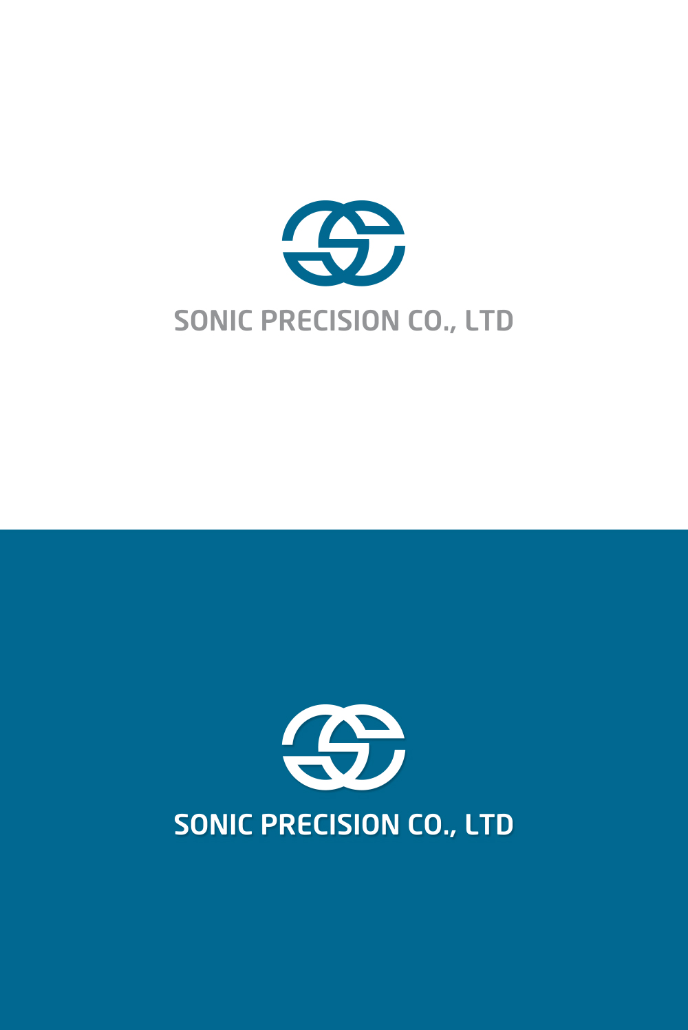 Industrial logo design for sonic precision co ltd by for Industrial design company