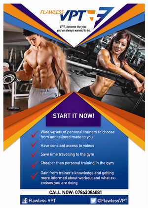 13 modern flyer designs personal trainer flyer design project for