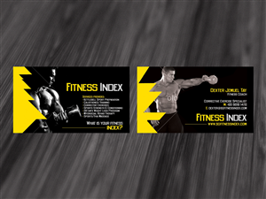 Gym Business Card 1396007