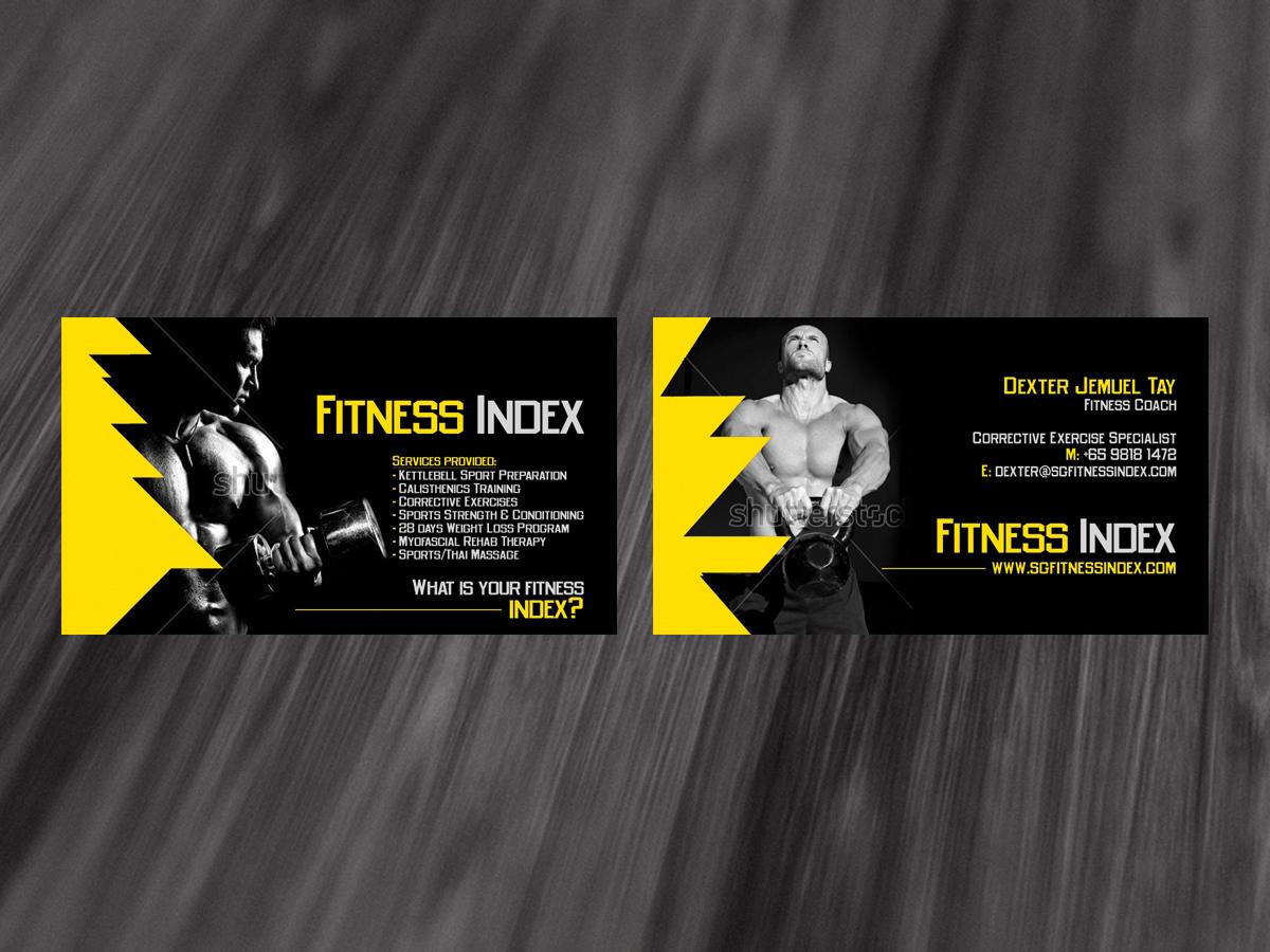 personal training business cards - Romeo.landinez.co