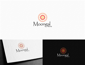 27 professional elegant painting logo designs for moongal arts a logo design design 4871171 submitted to australian regional aboriginal arts promotion company sciox Images