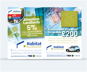 Flyer Design by see why - Letting Agency Promotional Innovative Leaflet/F ...
