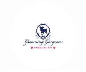 Logo Design by Wynny Lim - Mobile Dog Grooming Business Requires a Glamoro...