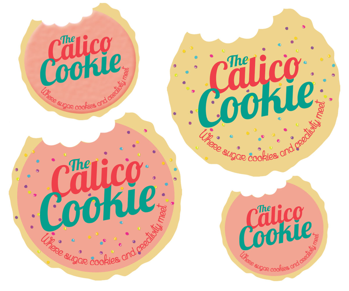 Logo design by quirky for the calico cookie design 4863606