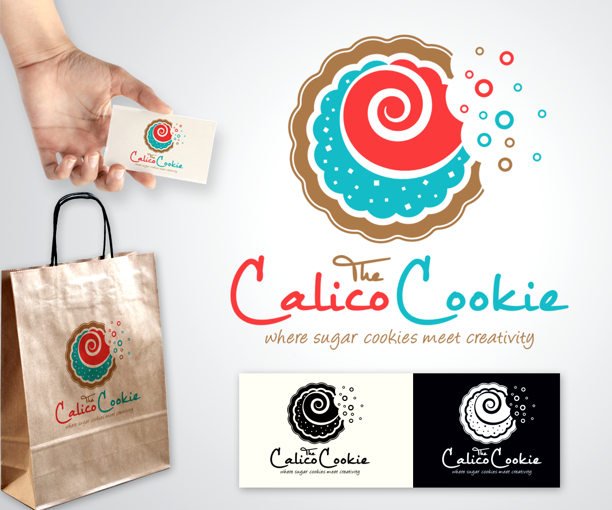 Elegant, Serious, Business Logo Design for The Calico Cookie by ...