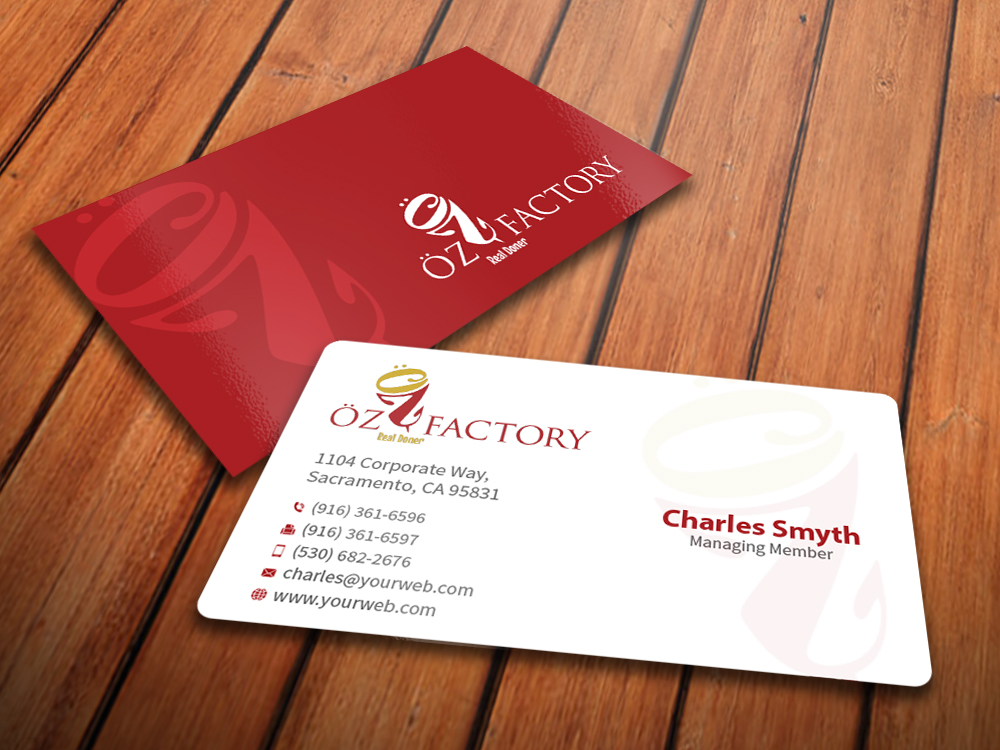 158 Professional Business Card Designs for a business in Kuwait