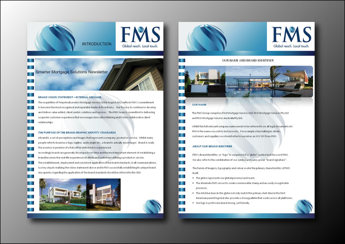 Bold modern newsletter design for fms by nafizrahat for Modern newsletter design