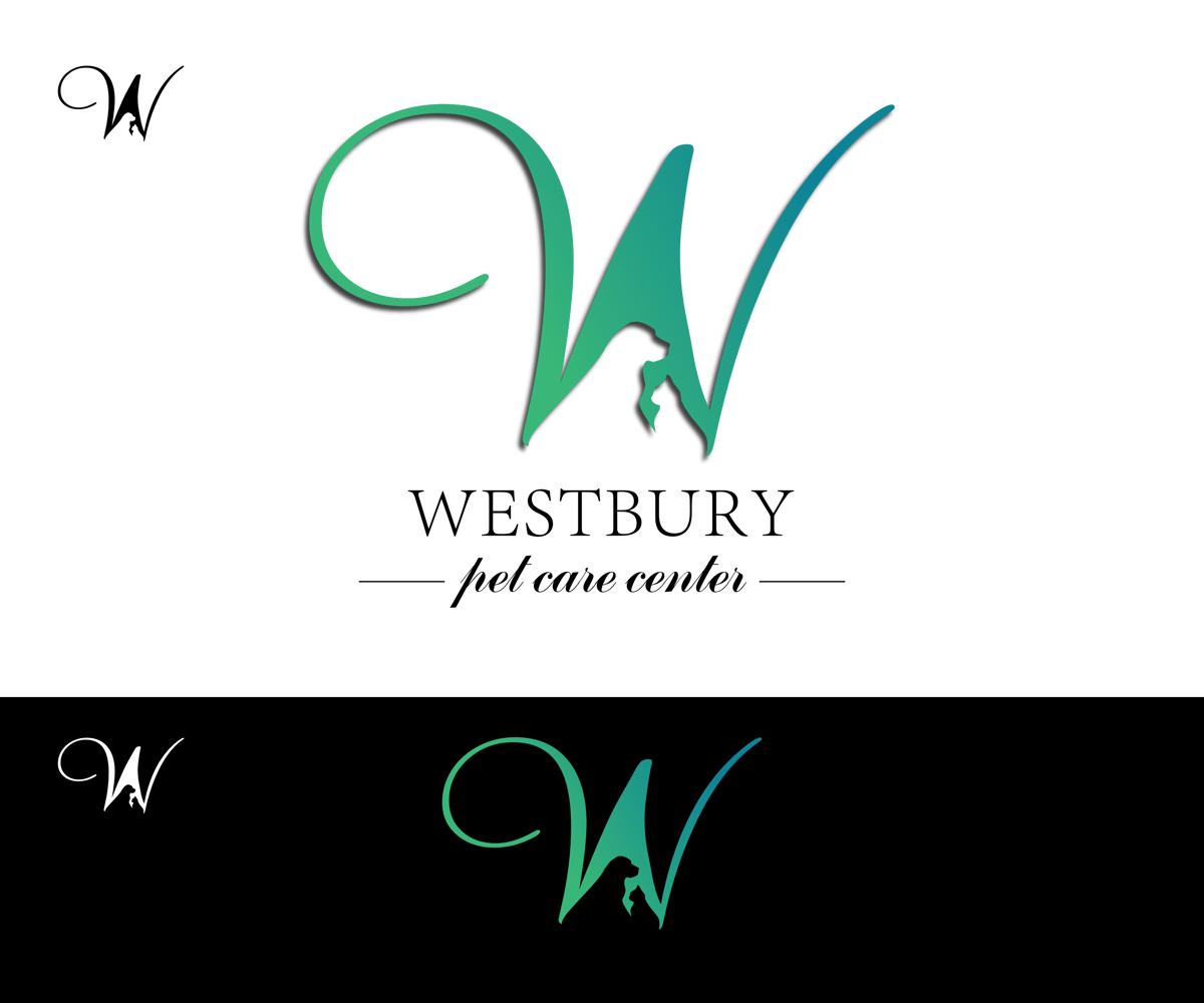 Pet Logo Design For Westbury Pet Care Center By Living