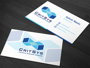 Business Card Design by kaatem - CritSys Business Cards