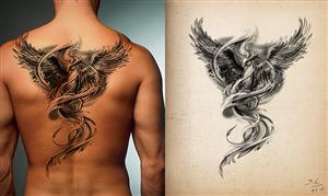 Tattoo Design by Ell Doe
