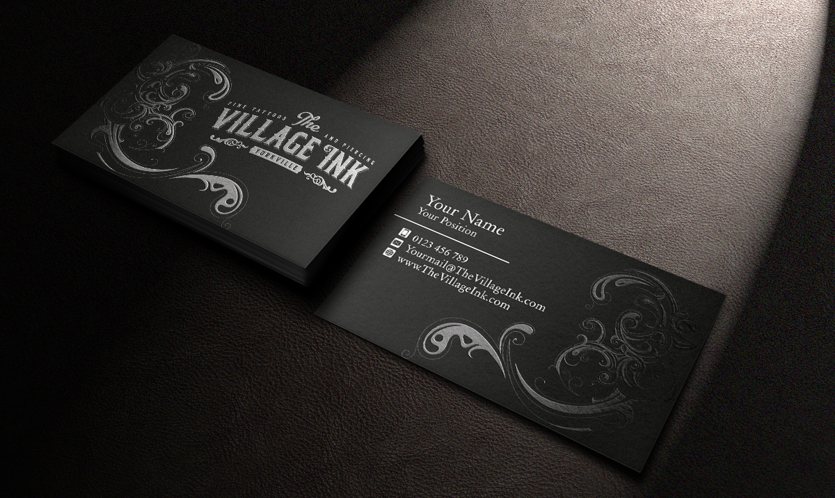 Masculine Upmarket Business Business Card Design For A Company By