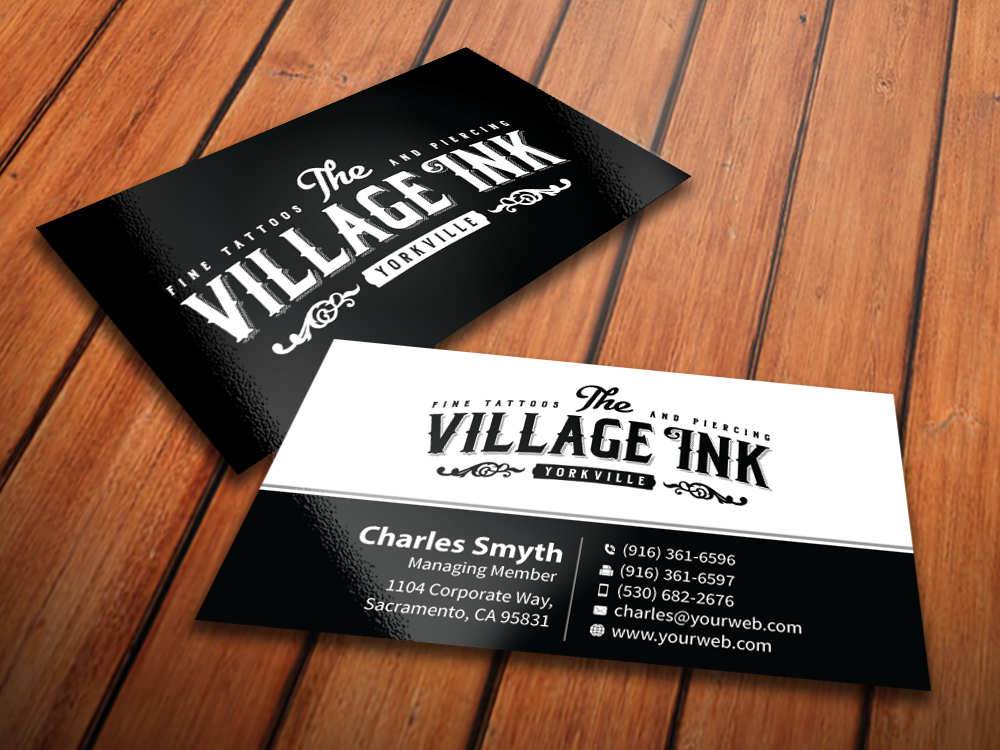 Masculine, Upmarket, Business Business Card Design for a Company by ...