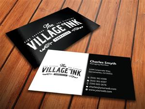 90 Masculine Business Card Designs Business Business Card Design