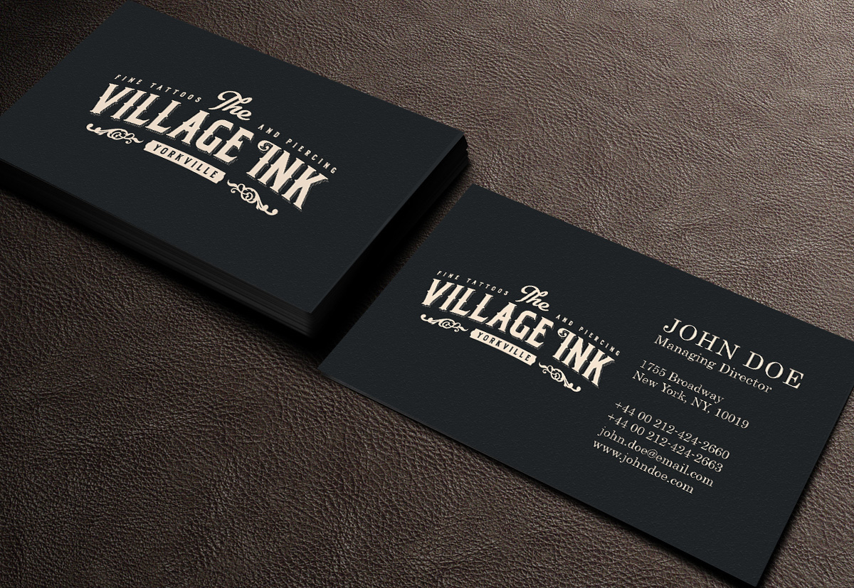 Tattoo Business Cards - Tattoo Collections