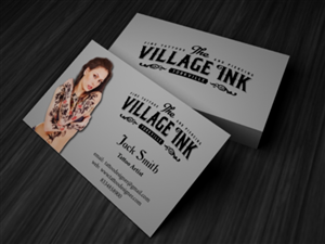Tattoo Business Card Designs 47 Business Cards To Browse Page 2