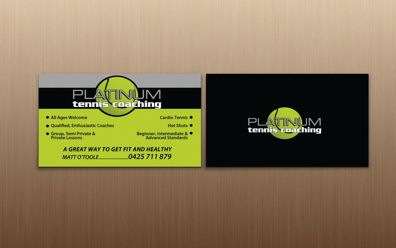 Tennis Australia Business Cards Choice Image - Card Design And Card ...