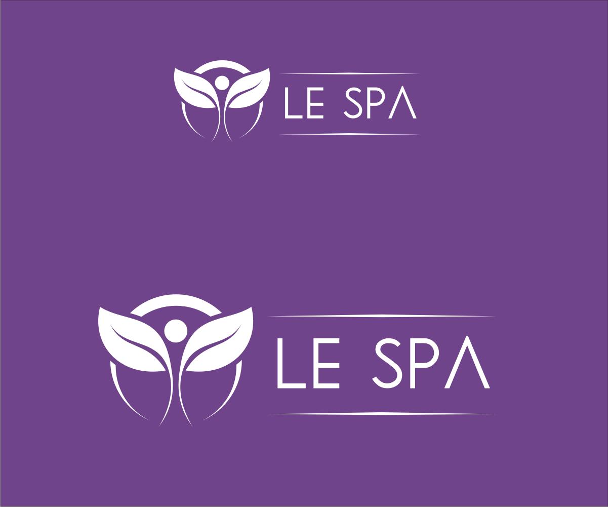 Professional elegant business logo design for le spa of for D for design