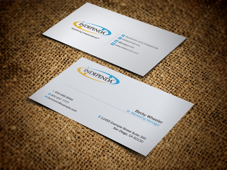 Business Card Design By Livebyfaith For Independa 1379451