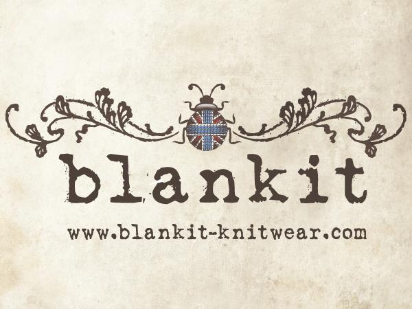 Blankit Women's knitwear label Logo by kelly