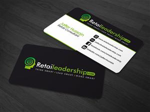 92 modern business card designs retail business card design business card design by kaatem for this project design 5108763 colourmoves