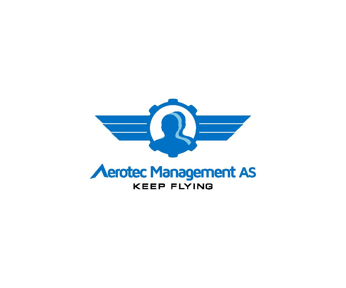 Elegant Playful Business Logo Design For Aerotec Management