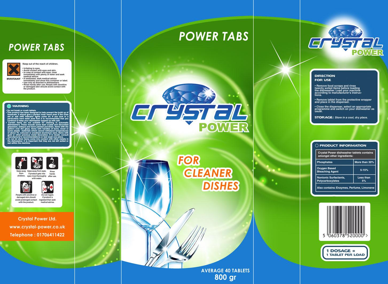 Sticker Design For Dishwashing Liquid Custom Dishwashing