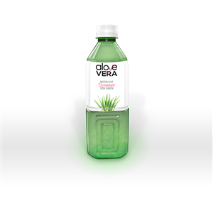 Photoshop Design by bluegaptek2 - Aloe Vera Drink Bottle in HD-Quality