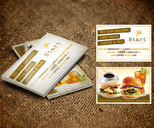 Coupon Business Card Design 1381687