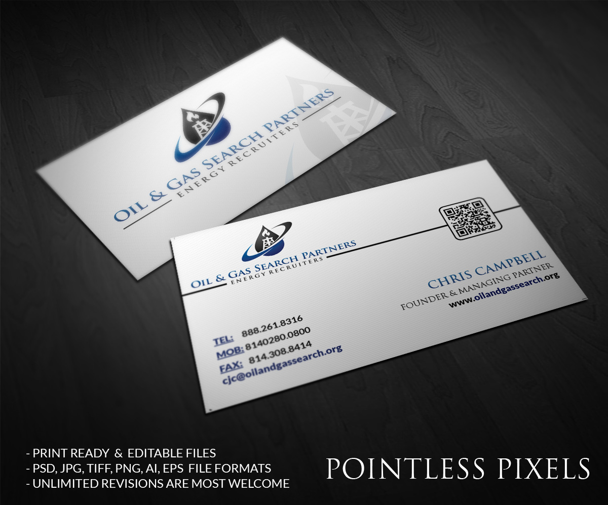 Oil and gas business card design for a company by pointless pixels business card design by pointless pixels india for this project design 4904383 colourmoves