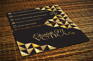 Business Card Design by Designs by Audra - New Attorney in Non-Traditional Field Needs Cre...