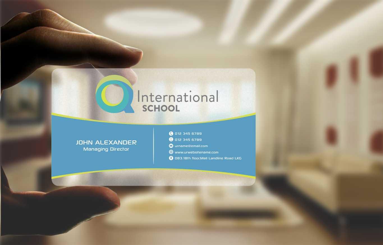 48 Modern Business Card Designs | School Business Card Design ...